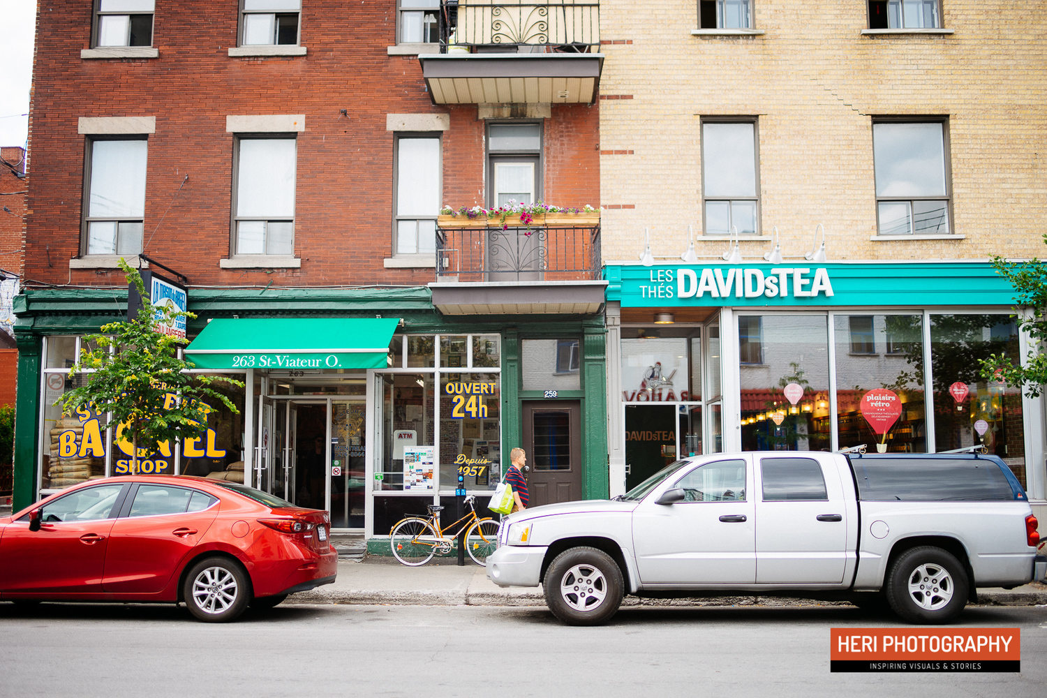 St-Viateur Bagel, David's Tea